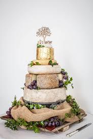 24 Cheese Wheel Wedding Cake French Rustic