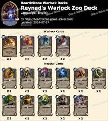 28 zoo warlock deck list beating the meta gaara s anti