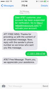 New AT&T Phishing Scam iphone