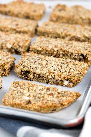Go Raw Pumpkin Seed Bar by Baked Paleo Energy Bars With Nuts And Seeds Jessica Gavin