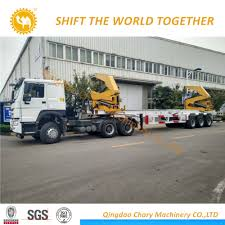 China 20FT Container Lift Semi Trailer 20FT Side Lifter Loader ...