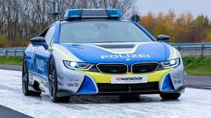 AC Schnitzer BMW I8 Police Car Is Plugged In & Hot ...