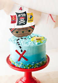 Playful & Modern Pirate Birthday Party Ideas Hostess with the