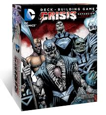 dc comics deck building game crisis expansion pack 2 cryptozoic