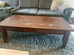 holztisch wohnzimmer tisch sofa tisch tv tisch