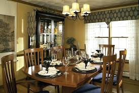 Modern Valances For Dining Room Impressive Window Treatments In Contemporary With