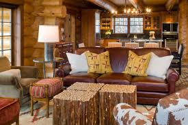 Modern Rustic Living Room At Solitude Grace Home Design