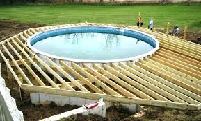 Above Ground Pool Decking Designs Deck Swimming Decks Inside With Ideas Free Oval Pools For Sale