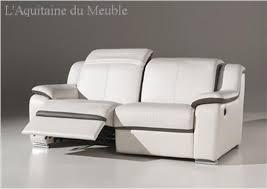 canap relax cuir pas cher photos canapé 2 places relaxation électrique cuir
