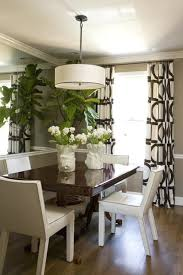 Modern Dining Room Curtains For Rustic Christmas
