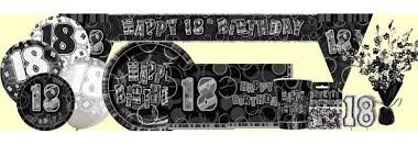 40th Birthday Decorations Nz by 18th Birthday Party Supplie Party World