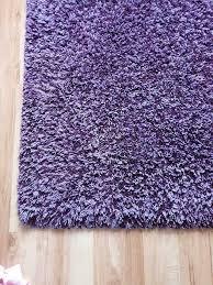teppich wohnzimmer hochfloor lila
