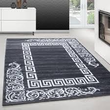 teppich modern designer wohnzimmer versace muster barock