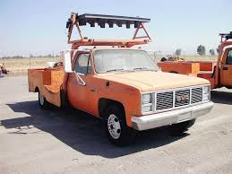 1987 GMC 3500 Bucket / Boom Truck For Sale | Madera, CA | CONE ...