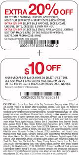 Macy Coupons 10 Off 25