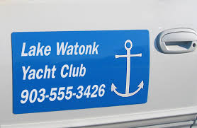 Magnetic Signs | Temporary Door Lettering - Max Vehicle Wraps