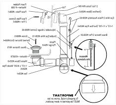 Bathtub Drain Assembly Diagram by Bathroom Sink Bathroom Sink Drain Installation The Pipe Being