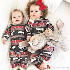Baby Boy Girl Christmas Clothes Winter Jumpsuit Cute Romper Cotton Kid Red Pajamas Snow Flower Reindeer Clothing 3 18m Factory