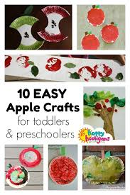 10 PRESCHOOL APPLE CRAFTS For Fall Toddlers And Preschoolers Will Love These Fun Easy