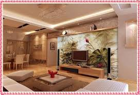 Modern Living Room Decoration Ideas TV Background Wall Paper Textures