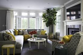 Modern Living Room Design And Decorating With Colorful Accents