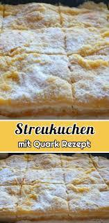 streukuchen mit quark rezept schnelle und einfache rezepte