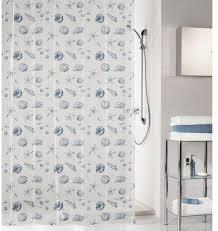 duschvorhang shell breite 180 cm höhe 200 cm blau duschvorhänge duschen bad sanitär