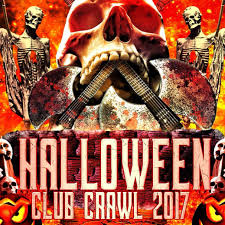 Clarendon Halloween Bar Crawl 2017 by Screams From Hell Club Crawl Halloween Night