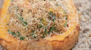 comment cuisiner courge butternut recette de courge butternut farcie l express styles