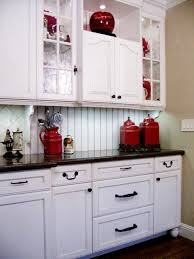 Another Kitchen Color Option Traditional White And Red Cabinetry Design Pictures Remodel Decor Ideas