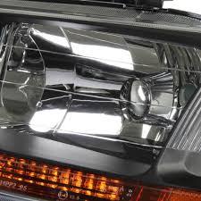 hid xenon 98 02 honda accord jdm headlights chrome