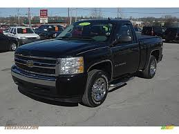 2007 Chevrolet Silverado 1500 LS Regular Cab In Black - 622758 ...