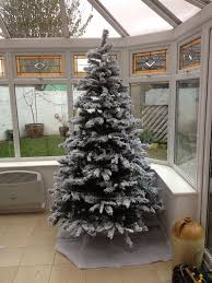 6ft Fibre Optic Christmas Tree Homebase by 7ft 240cm Snow Storm Christmas Tree 7 U0027 7 Foot In Axbridge
