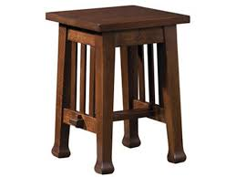 Stickley Living Room Roycroft Tabouret Table 89 049 Art Sample