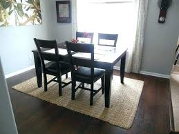 Dining Room Carpet Or Hardwood Cover Table Protector Carpets Ideas Surprising L