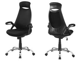 Office Chair - Black Mesh, Chrome High-Back Executive ... Fitt Highback Jet Black Leer En Lnea Bush Business Fniture State High Back Marco Chair Without Arms Leather 1510 Flash White Leathergold Frame Officedesk Chairs Modern Diffrient Waiting Remarkable Wor Desks Small Desk Chairs With Wheels Office Desing Oxford Heavy Duty To 150kg With Medium Or For Peace Quiet And Privacy From Orgatec 2018 Comfortable Ergonomic Mesh Buy Sylphy Light Grey Caveen Cover Computer Universal Boss Simplism Style Large Size Not Included Small Adjustable
