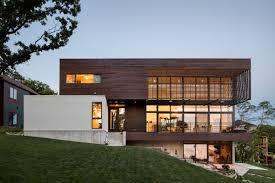 100 Modern Stucco House Kem Studio Wraps Lakeside Missouri Residence In Cypress And