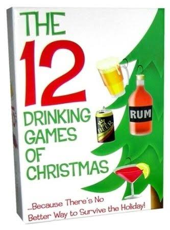 Kheper Games The 12 Drinking Games Of Christmas Board Game
