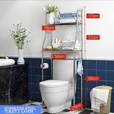 edelstahl rack regal waschmaschine rack bad wc raum saver regal veranstalter halter regale 2 schichten lagerung