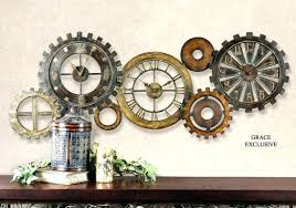 Clocks Wall Decor Stylish Ideas Large Decorative Oversized Clock Design Images Full Interesting Decoration