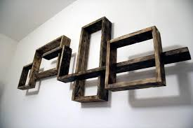 Pallet Wall Mounted Shelving Unit Wall Shelves For Books Hd