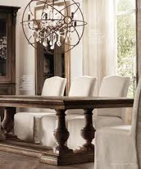 Restoration Hardware Curtain Rod Extension by St James Rectangle Dining Tables 84