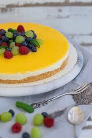 lemon curd cheesecake mit keksboden käsekuchen ohne backen