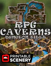 Making 3d Dungeon Tiles by Dungeon Caverns 31 Separate 3d Printable Dungeon Tiles Www