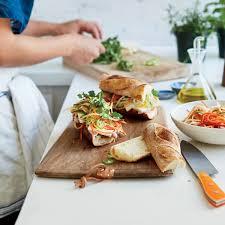 Vegetarian Sandwiches Food Wine