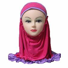 aliexpress com buy girls kids muslim hijab islamic arab scarf