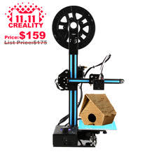 Ship From US 2017 CREALITY 3D Cheap Metal Printers Ender 2 Kit FDM Printer I3 Full Frame Colorful Industrial Grade High Precision