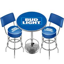 Bud light bar stools