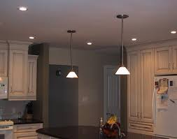 lighting kitchen lights ceiling ideas with recessed wonderful