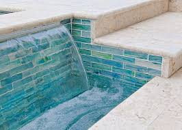pool tile ideas shellstone pool deck marble tile pool tile